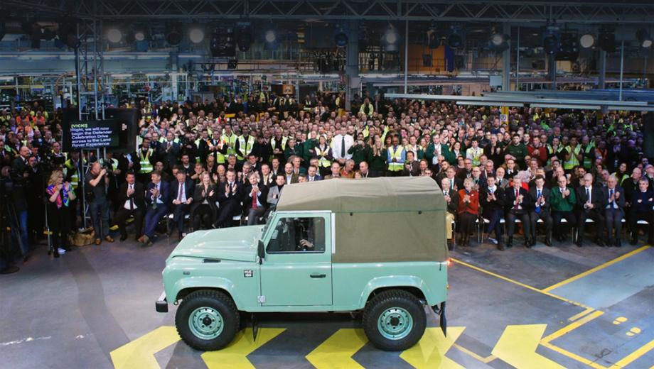 Будущий Land Rover Defender получит невиданные версии — ДРАЙВ