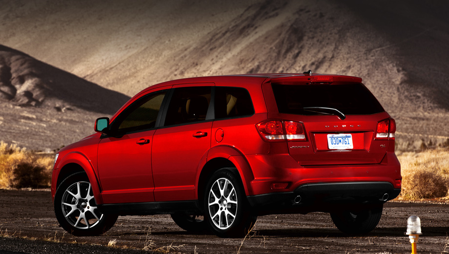 Dodge journey. Определённо сказать, к какому классу относится нынешний Dodge Journey по своим пропорциям, сложно — то ли минивэн, то ли кроссовер. Расположение мотора — поперечное, полный привод — опция. Выпускается с 2008 года, обновлялся осенью 2010-го. В 2014-м получил версию Crossroad.