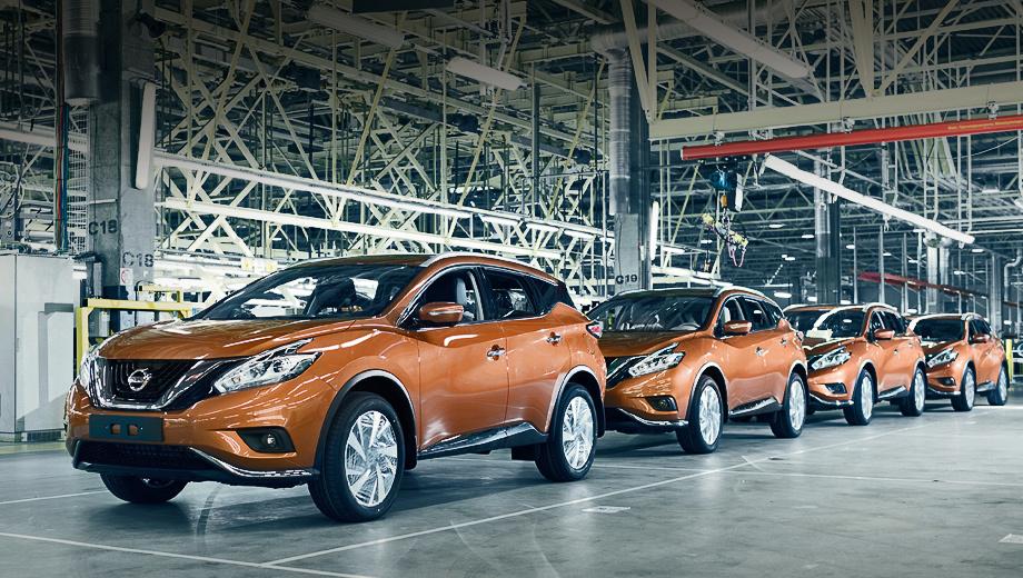 Nissan murano. Кроссовер Murano стал четвёртой моделью Nissan, собираемой на предприятии в Питере. Также здесь производятся X-Trail, Qashqai и Pathfinder.