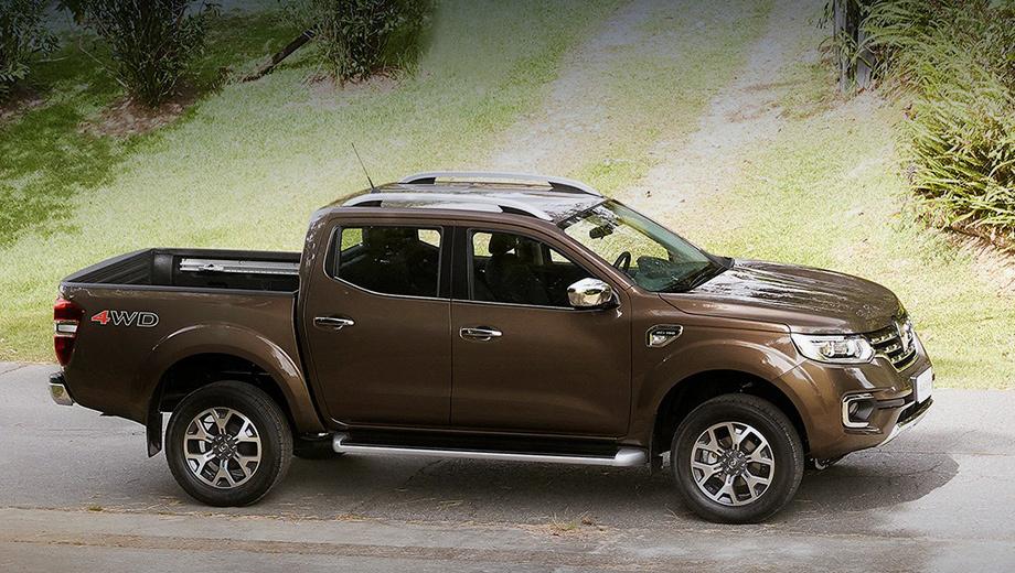 Renault alaskan. Производство автомобиля будет налажено на трёх заводах — в Аргентине, Испании и Мексике.
