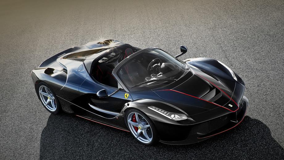 Ferrari la,Ferrari la spyder. По слухам, гибридный родстер впервые покажется на публике уже осенью на мотор-шоу в Париже.