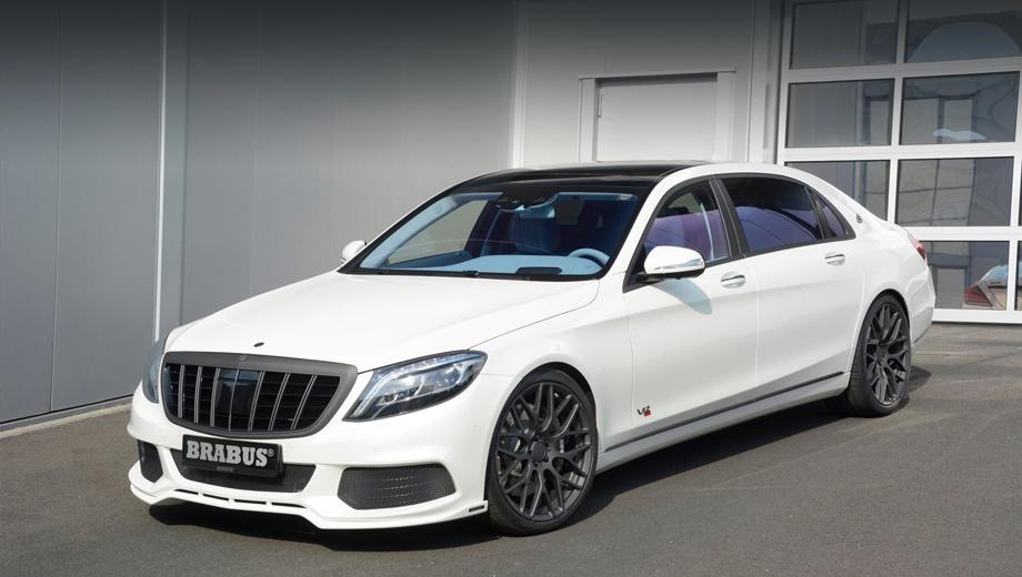 Mercedes -maybah s. Исходной моделью в данном случае являлся седан Mercedes-Maybach S600. А мы уже мечтаем увидеть форсированный Pullman.