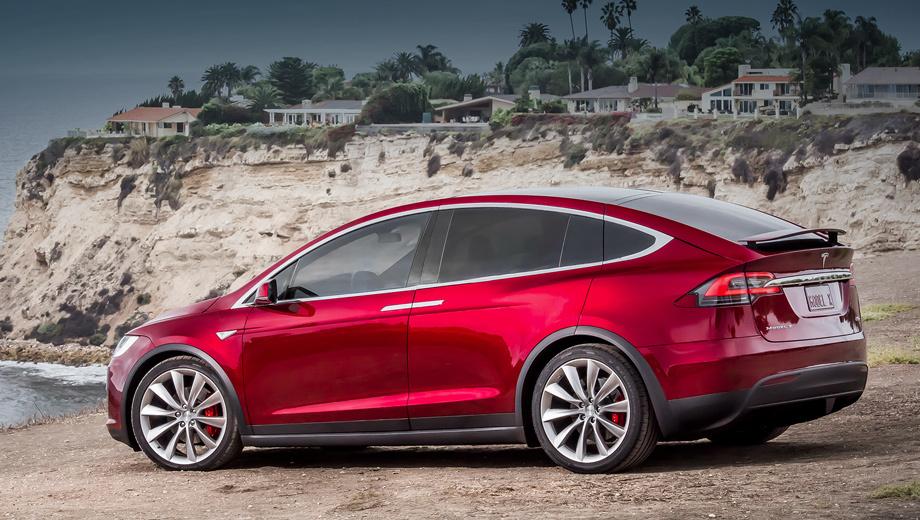 Tesla model x. В новой начальной вариации 60D полноприводник по-прежнему разгоняется до 96,5 км/ч за 6,0 с и достигает максималки 209 км/ч, то есть $9000 экономятся только за счёт сокращения пробега на 59 км.