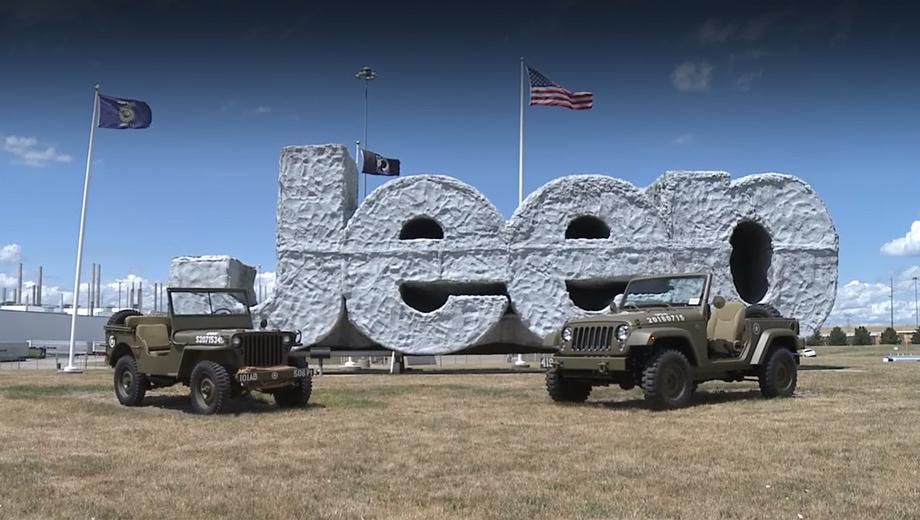 Jeep wrangler,Jeep wrangler 75th salute,Jeep concept. Марка Jeep чувствует себя лучше, чем когда-либо. В прошлом году она реализовала более 1,2 млн автомобилей, четвёртый раз подряд обновив годовой рекорд.