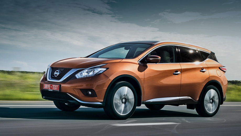 Nissan murano. Цены объявят 1 августа, продажи — с начала сентября. На выбор будут два силовых агрегата, передний и полный привод, а также четыре комплектации, причём кожаная отделка салона, светодиодные фары и система бесключевого доступа в салон — уже «в базе».
