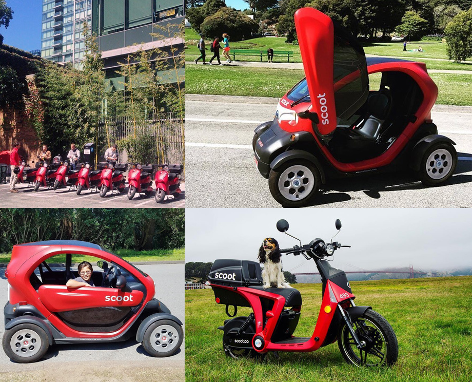 Как часто пользователи выбирают скутеры или квадрициклы, какие типичные поездки на них совершают, в каких точках города концентрируются такие машины... Вот круг вопросов, ответить на которые призвана опытная эксплуатация электрокаров в Сан-Франциско.