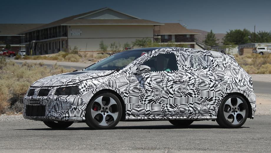 Volkswagen polo,Volkswagen polo gti. Судя по колёсным дискам, перед нами «подогретая» версия Polo GTI, которая, вероятно, дебютирует одновременно с остальными модификациями.