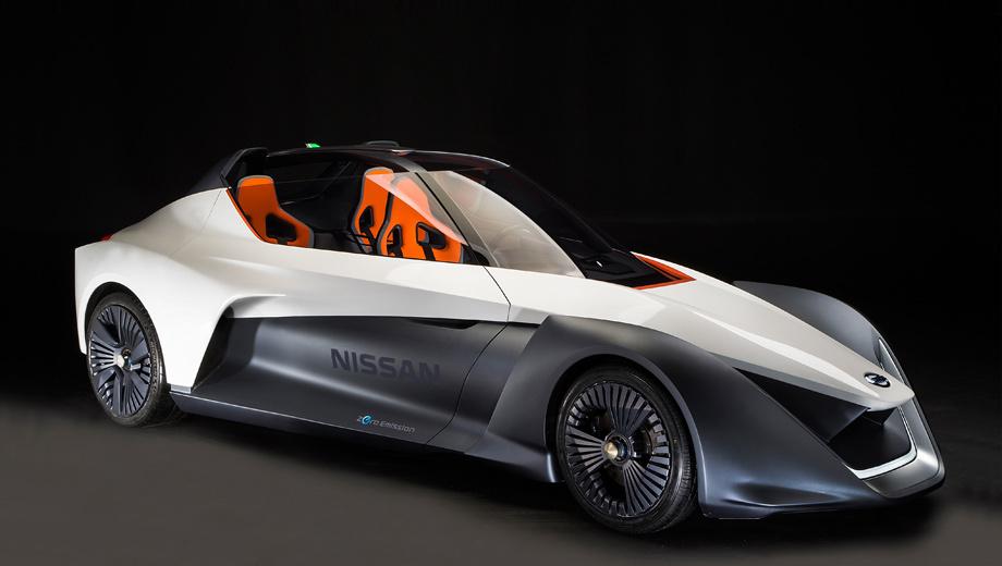 Nissan bladeglider,Nissan concept. Длина, ширина, высота и колёсная база модели — 4300, 1850, 1300 и 2800 мм. Снаряжённая масса составляет 1300 кг.