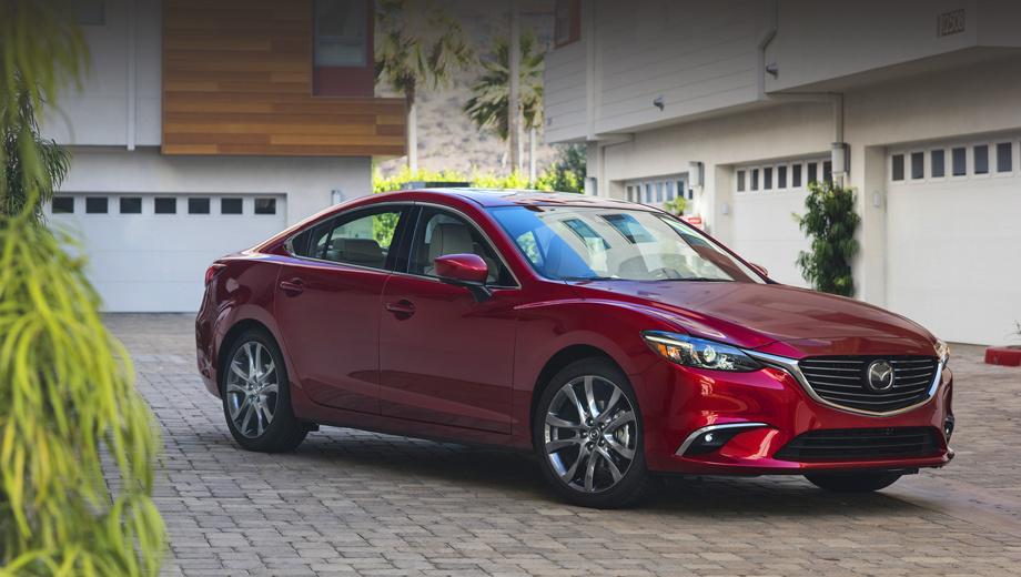 Mazda 6. Экстерьер на этот раз не поменялся, да и в салоне внесённые исправления сходу заметит лишь намётанный глаз. Зато в оснащении — немало нового.