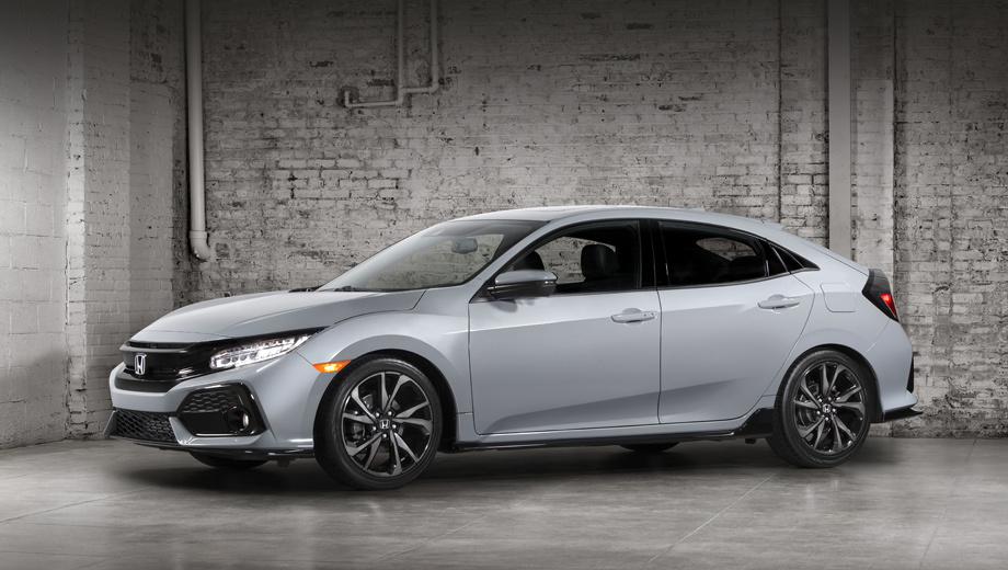Honda civic. Для Штатов хэтч будет предложен в пяти комплектациях: LX, Sport, EX, EX-L и Sport Touring.