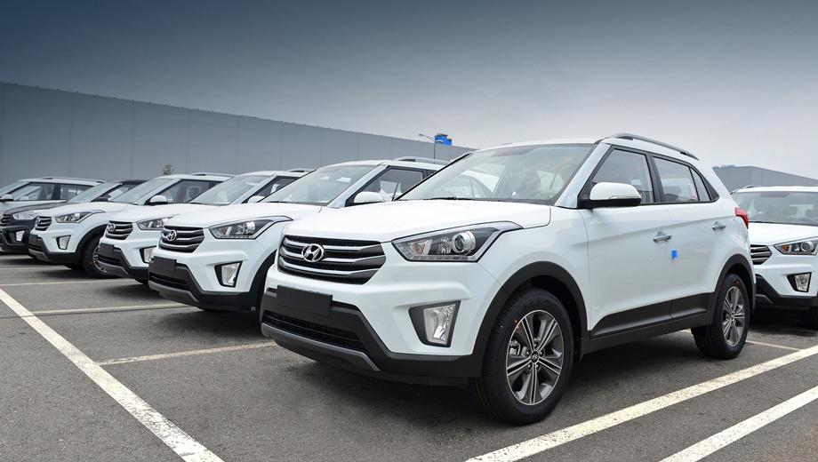 Hyundai accent,Hyundai creta. Переднеприводный кроссовер Creta, оснащённый мотором 1.6 (123 л.с.) и «механикой» стоит в России от 749 900 рублей.