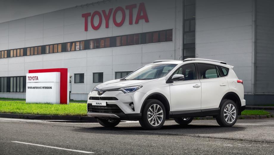 Toyota rav4. Чтобы нарастить мощность завода с 50 000 до 100 000 автомобилей в год и поставить новую модель на поток, компания инвестировала в предприятие 9,7 млрд рублей.
