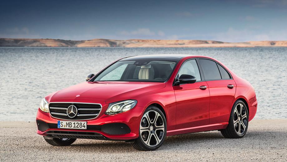 В Российской Федерации стартовали продажи полноприводных Mercedes E-Class