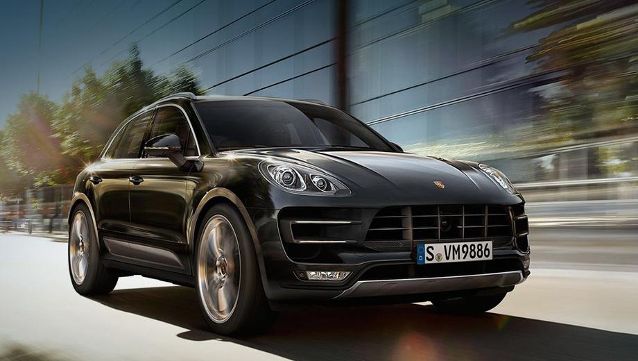 Porsche macan. Автомобиль уже доступен для заказа в России. Минимальная цена — 6 645 000 рублей.