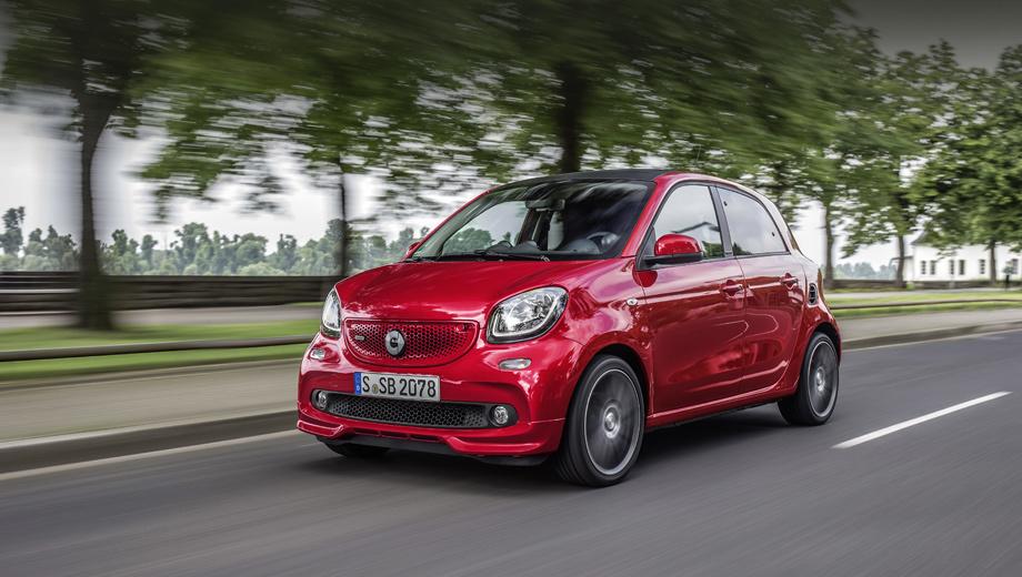 Smart fortwo,Smart forfour,Smart fortwo cabrio,Smart brabus,Smart brabus fortwo,Smart brabus fortwo cabrio,Smart brabus forfour. Может, самые крохотные Брабусы и не особо мощные, но удовольствие от вождения дарить обязаны: тут перенастроены рулевое управление, подвеска, система стабилизации и трансмиссия.