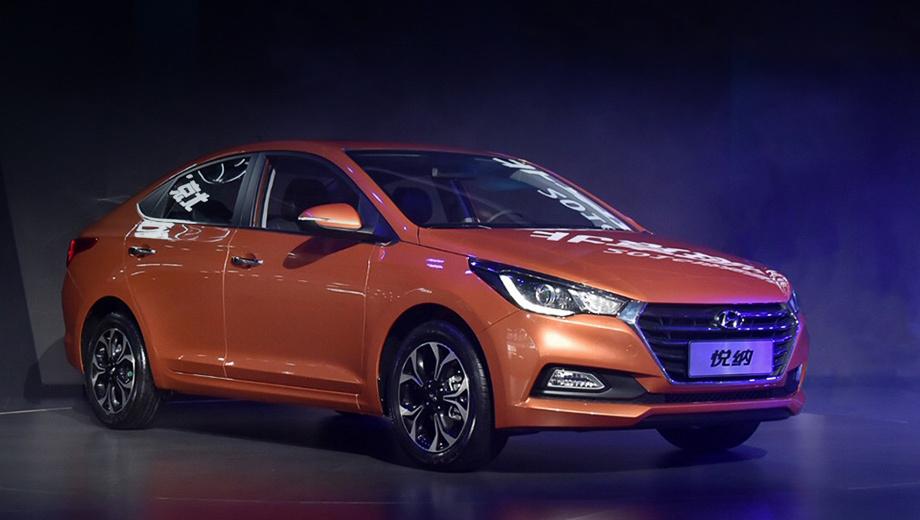 Hyundai verna,Hyundai solaris. Новое поколение Верны можно отличить от предшественника по бамперам, более узким фарам и решётке радиатора. Расширилась гамма цветов для окраски кузова.