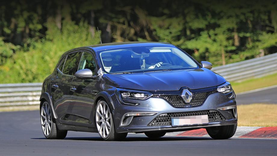 Renault megane,Renault megane rs. Прежний Megane RS был исключительно трёхдверным, а новый будет предлагаться только с пятью створками.