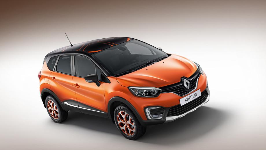 Renault kaptur. Кроссоверы с элементами персонализации Atelier Renault будут доступны у дилеров с октября.