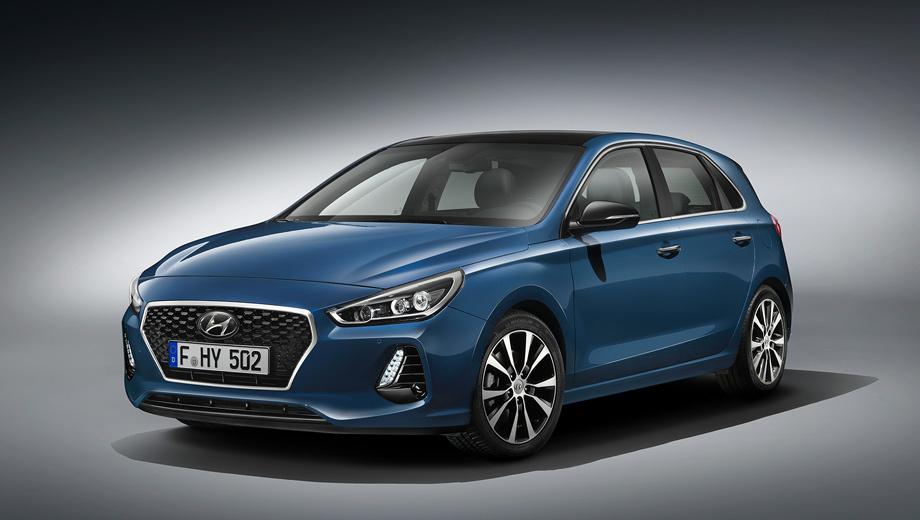 Hyundai i30. В Европе пятидверный хэтчбек Hyundai i30 поступит в продажу в первом квартале 2017 года. Цены на автомобиль будут объявлены ближе к этому времени.