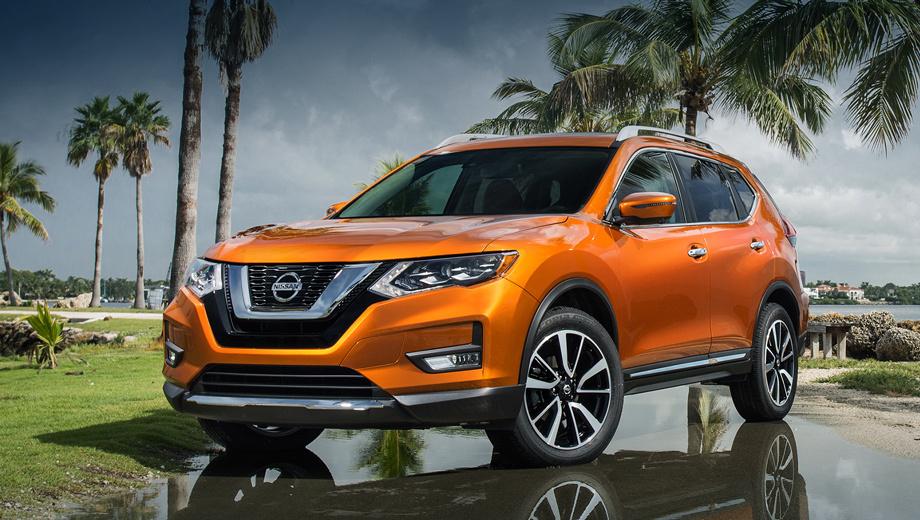 Nissan rogue. Помимо гибридной модификации в Америке у кроссовера Rogue по-прежнему есть вариант со 172-сильной «четвёркой» 2.5 под капотом.