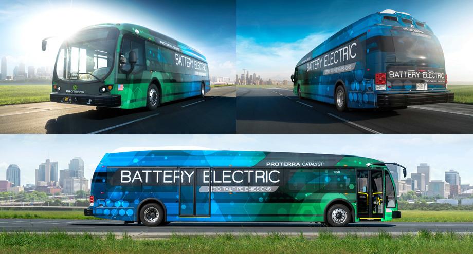 Генеральный директор Протерры Райан Поппл перешёл в неё из Теслы в 2014 году. В 2015-м Калифорнийский департамент энергетики выделил Протерре трёхмиллионный грант на проектирование и постройку электрического междугороднего автобуса. Как видно, средства не пропали понапрасну.