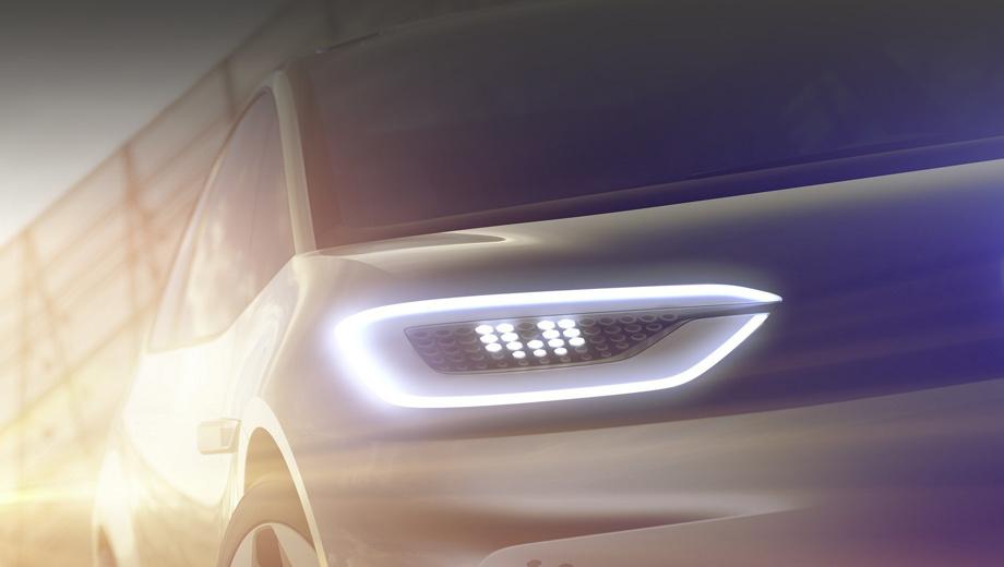 Volkswagen concept. Глава марки Volkswagen Герберт Дисс пояснил, что шоу-кар весьма близок к конвейерному варианту. Так что стоит внимательнее посмотреть на первые тизеры, опубликованные производителем.