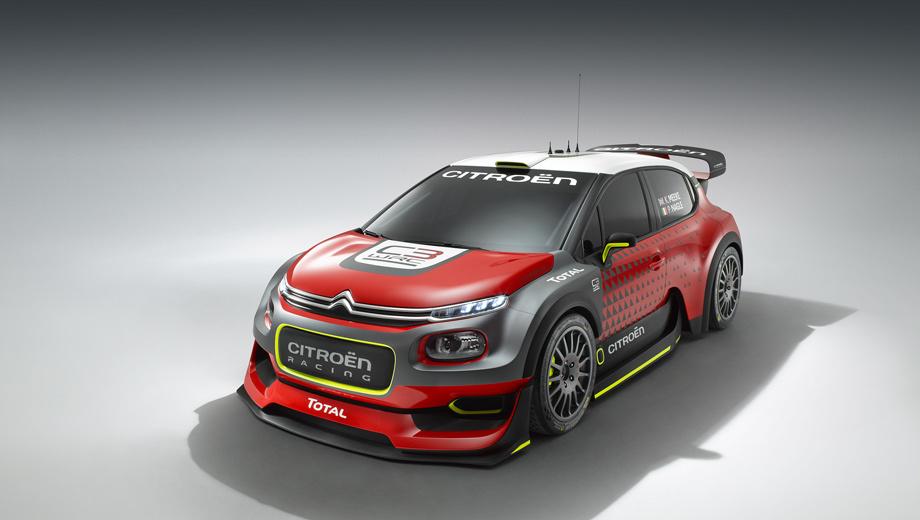 Citroen c3,Citroen c3 wrc,Citroen concept. Реклама новой гоночной модели призвана стимулировать продажи обычного Ситроена C3, чьё третье поколение было показано этим летом.