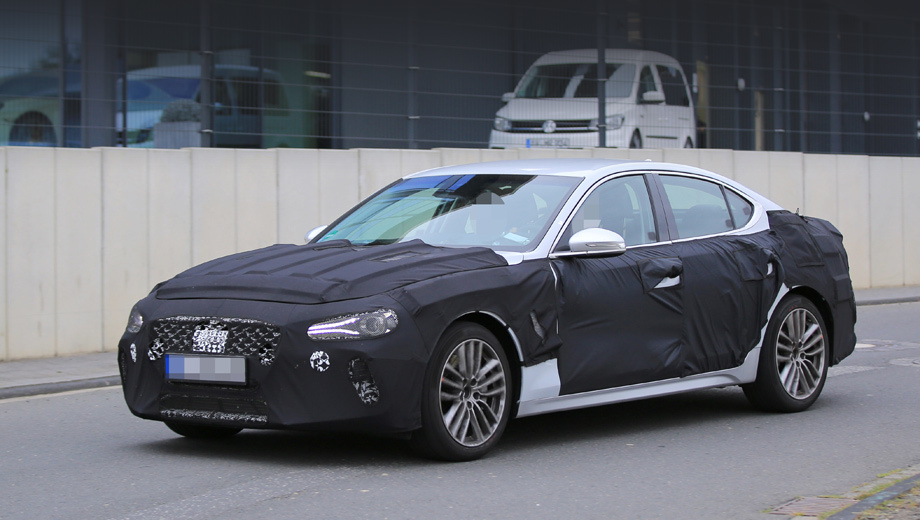 Новый Genesis G70  (Spy Photos & Video)