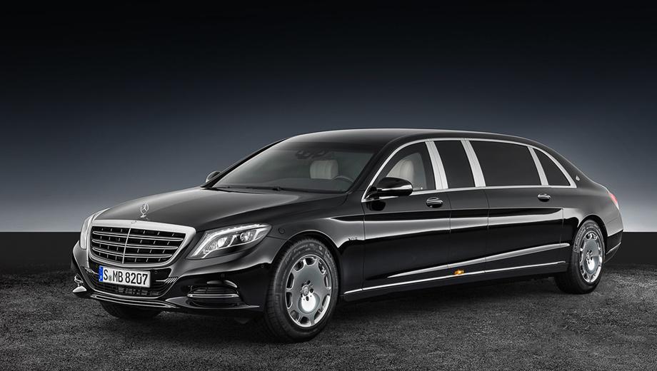 Mercedes maybach s600. Внешне отличить бронированный автомобиль от обычного практически невозможно. В Мерседесе это считают одним из преимуществ.