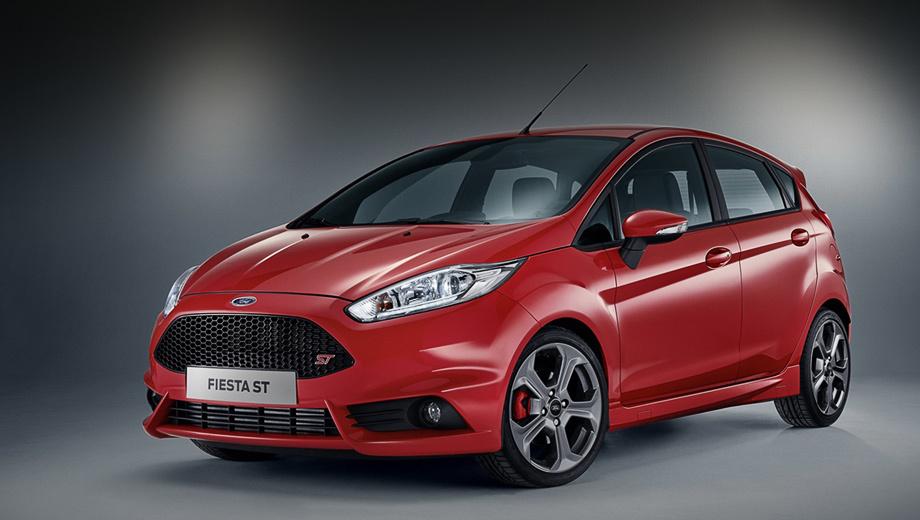 Ford fiesta. В Форде рассчитывают, что на новую модификацию придётся четверть всех продаж хэтчей Fiesta ST в Европе.