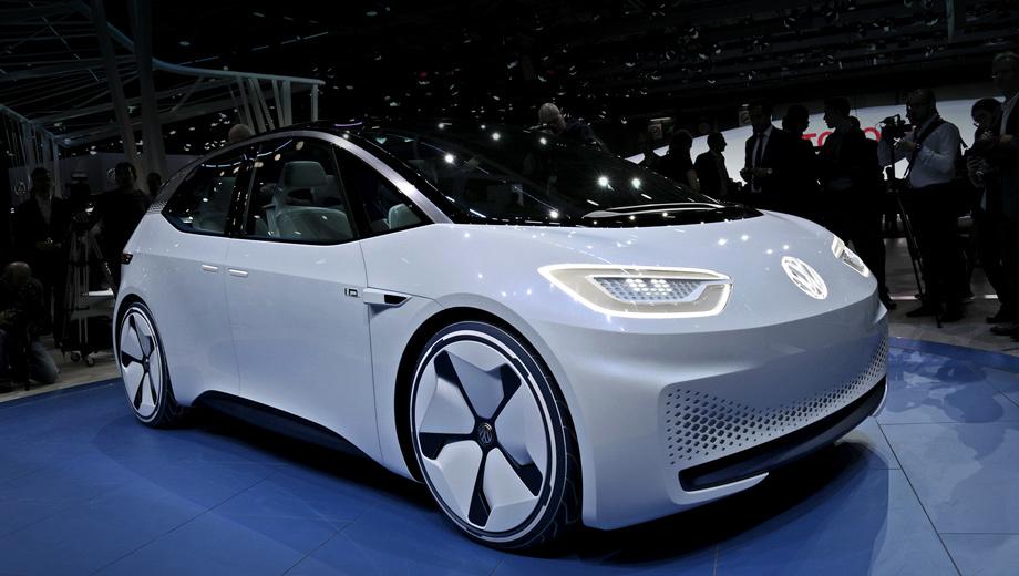 Volkswagen concept,Volkswagen id. Теперь понятно, как выглядят ранее озвученный принцип Think New и обещанная Фольксвагеном «новая эра мобильности», — это нечто вроде помеси Гольфа с iMac'ом.