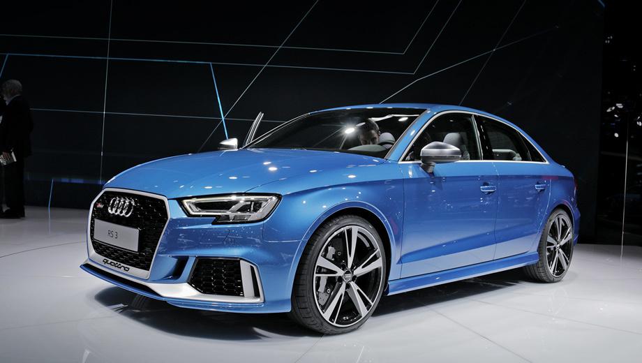 Audi rs3,Audi rs3 sedan,Audi rs3 lms. Колея передних колёс «эр-эски» на 20 мм больше, чем у обычного седана (соответственно подправлены и крылья), задних — на 14 мм. Светодиодные фары являются стандартом, матричные — опция.
