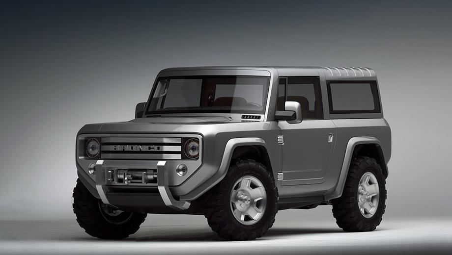 Ford bronco. Как будет выглядеть возрождённый Bronco, который разделит платформу с новым поколением Форда Ranger, пока неясно. На фото — концепт 12-летней давности.