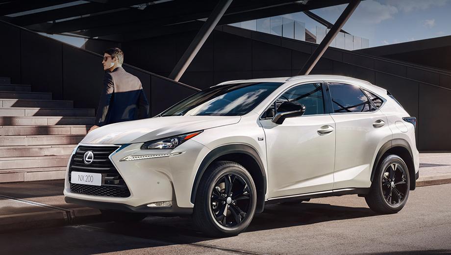 Lexus nx. Паркетник Lexus NX 200 Sport будет предлагаться в девяти оттенках кузова, восемь из этих цветов — «металлик».