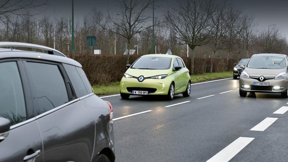 Renault zoe. При создании автономного хэтча Zoe был использован опыт с прототипом по имени Next Two, построенным ещё в 2013 году.