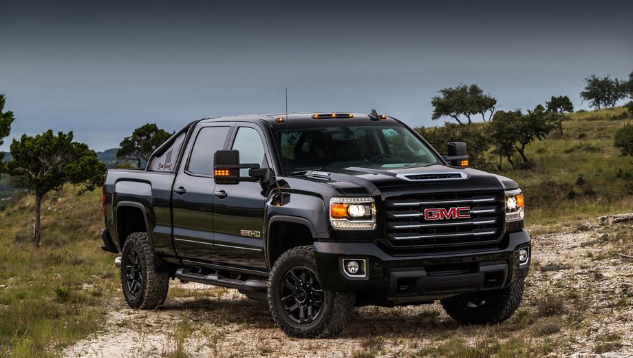 Gmc sierra hd all terrain x. Для специальной серии предусмотрено только два цвета кузова: Black Onyx и Summit White.