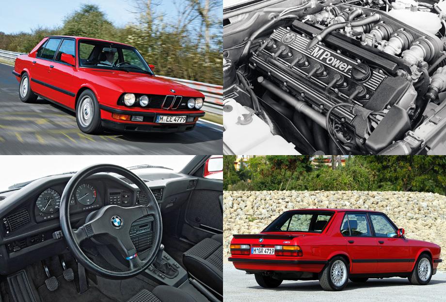 Первая М5 в истории была представлена в 1984 году. Первоначально немцы хотели ограничить тираж 500 экземплярами, но спрос оказался очень высок, в итоге собрали 2241 штуку.
