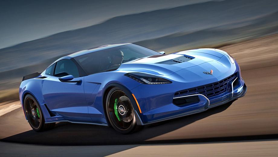 Chevrolet corvette. Компания Genovation Cars уже начала принимать заказы на электрокары выпуск которых начнётся только в 2019 году. Предоплата — $250 тысяч