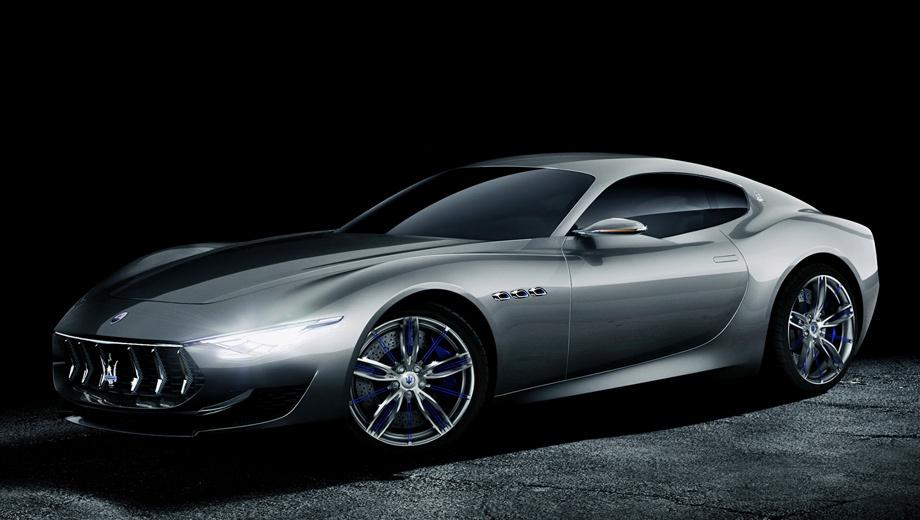 Maserati granturismo,Maserati grancabrio,Maserati alfieri. Шоу-кар был построен на основе купе Maserati GranTurismo MC Stradale. Серийная машина технически будет другой. Ключевые решения по платформе и дизайну Alfieri ещё предстоит принять.