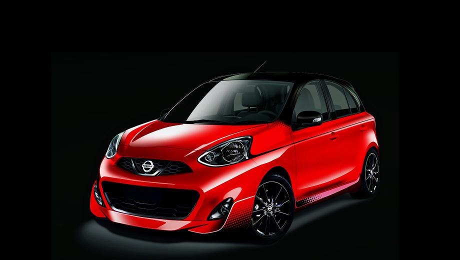 Nissan march,Nissan micra. Пока производитель поделился только одним изображением спецверсии Nissan March Midnight Edition. Скорее всего, в салоне тоже кое-что изменилось.