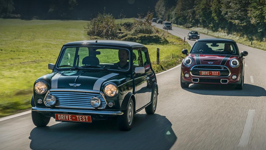 Mini cooper. Два мира, два детства, два ценовых подхода. Первые Mini конкурировали с «Логанами» тех времен типа фольксвагеновского Жука или ситроеновского 2CV. Нынешние трёхдверки Mini Cooper стоят от 1 189 000 рублей, а Cooper S ― от полутора миллионов.