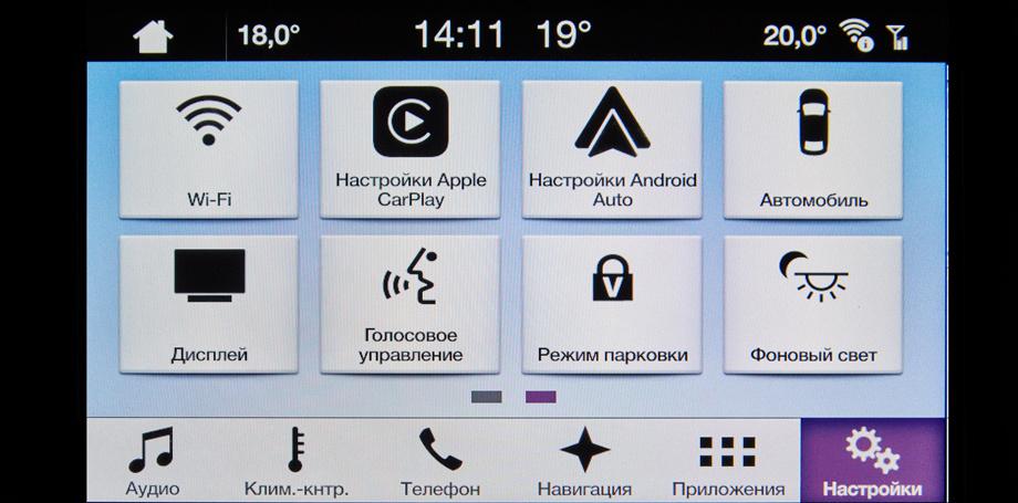 Российские Форды начали оснащаться медиацентром Sync 3 | Ford Sync 3 Ford SYNC AppLink Apple CarPlay Android Auto