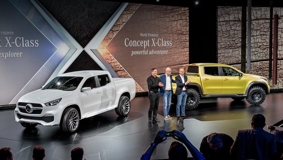 Mercedes x. Производство пикапа X-класса будет налажено на заводе Ниссана в Барселоне. Для стран Южной Америки модель планируется выпускать на предприятии Renault в Аргентине.