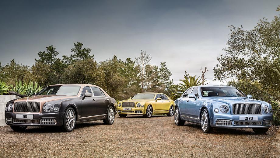 Bentley mulsanne. Все машины для России оборудованы системой «ЭРА-ГЛОНАСС».