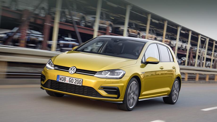 Volkswagen golf,Volkswagen golf variant,Volkswagen golf gti,Volkswagen golf gte. На Гольфе появились опциональные светодиодные фары, прежде бывшие прерогативой электрической модификации. Причём они заменили ксеноновый головной свет (на фото машина с пакетом R-Line).