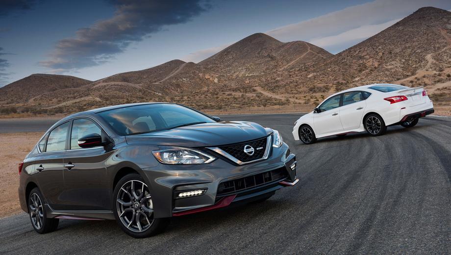 Nissan sentra,Nissan sentra nismo. Производство спортивной версии Nismo налажено на заводе в Мексике. На каких рынках помимо США будет представлена новинка, пока не сообщается.