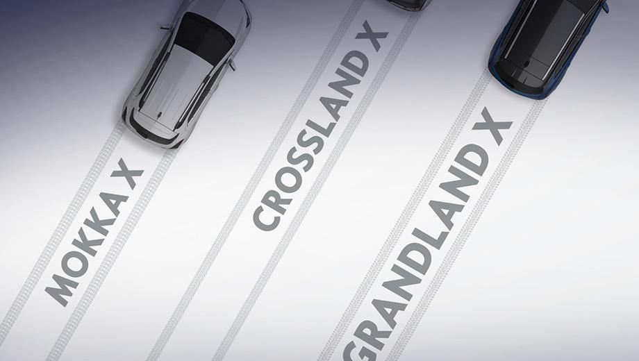 Opel grandland x. Оба кроссовера дебютируют в течение следующего года. Первым, скорее всего, покажется Crossland X — в марте на салоне в Женеве, а презентации Grandland X придётся ждать до осени.