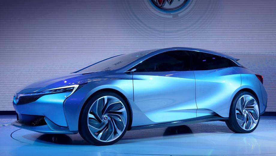 Buick velite. Разработкой шоу-кара занимались специалисты Паназиатского технического центра PATAC — это совместное предприятие GM и SAIC.