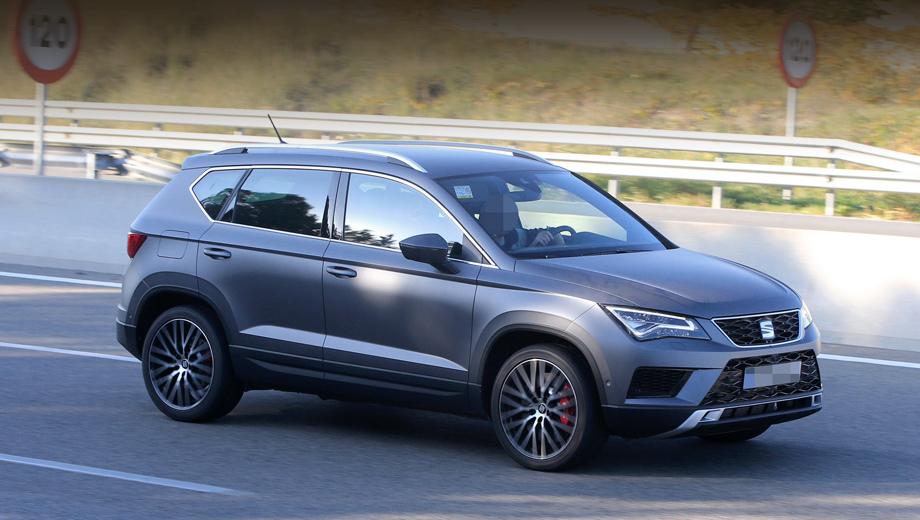 Seat ateca,Seat ateca cupra. В концерне Volkswagen компания SEAT выделяется особо требовательным отношением к снаряжённой массе моделей, что в случае «зажигалки» окажется важным фактором.