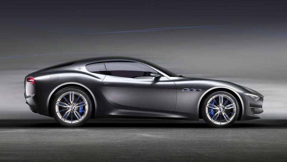 Maserati alfieri. По информации издания Electrek, бензиновый Alfieri будет создан в 2019 году, а электрический — в 2020-м.